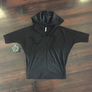 🍂Gap Pure Hooded Black Shirt
